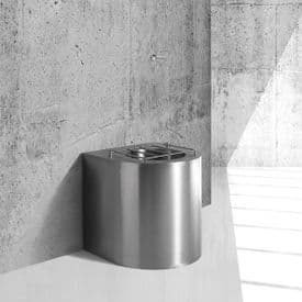 H&L Floor-Mounted Sluice Sink / Slop Hopper with Concealed Cistern