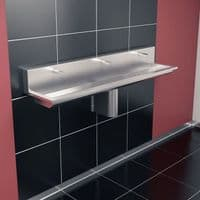 H&L Titan 1800mm High-Back Wash Trough