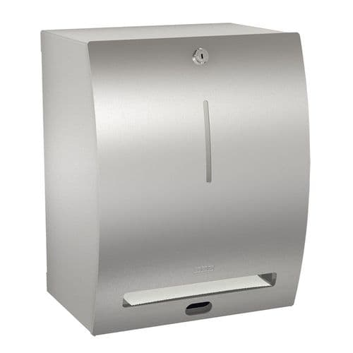 H&L Wall-Mounted No-Touch Paper Towel Dispenser with Anti-Bacterial Coating
