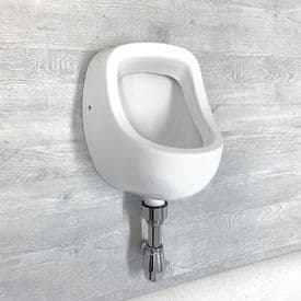 Healey & Lord 1 Station Junior Series Urinal Kit - Back Inlet