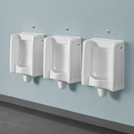 Healey & Lord 3 Station Florida Urinal Kit - Back Inlet with Direct Flush Sensors