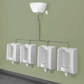 Healey & Lord 4 Station Florida Urinal Kit - Top Inlet with Exposed Cistern