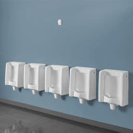 Healey & Lord 5 Station Florida Urinal Kit - Back Inlet with Concealed Cistern