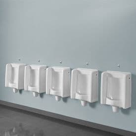 Healey & Lord 5 Station Florida Urinal Kit - Back Inlet with Direct Flush Sensors