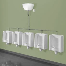 Healey & Lord 5 Station Florida Urinal Kit - Top Inlet with Exposed Cistern
