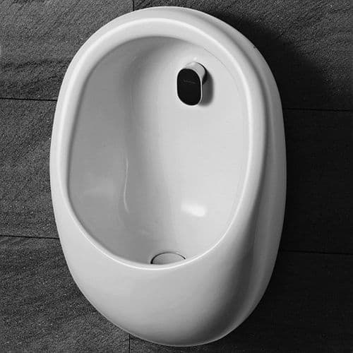 Healey & Lord Rotunda Ceramic Designer Urinal Bowl - Back Inlet