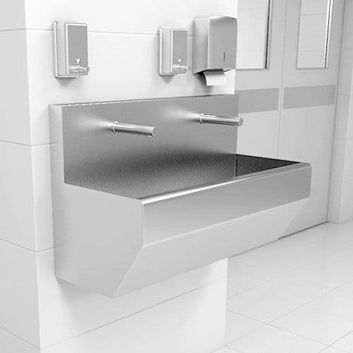 High-Back Surgeons Scrub Troughs by Healey & Lord
