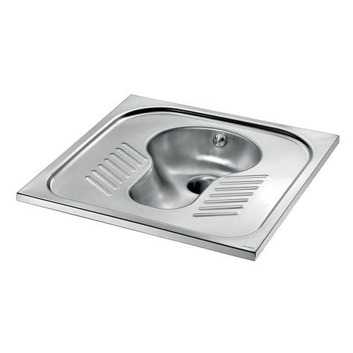 Stainless Steel WC Squat Pans