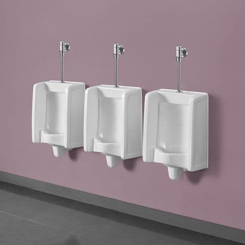 Top Inlet Florida Urinal Kits with Semi-Exposed Pipework