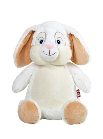 Personalised Cubbies Bunny White