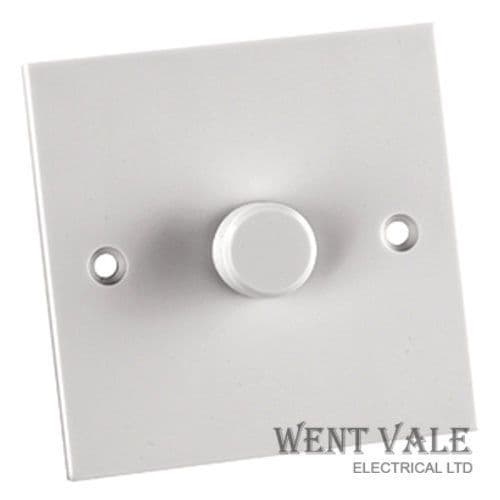 GET Exclusive Moulded - GD1G1W - 6a 1g 1w Rotary 60-250w Dimmer Switch