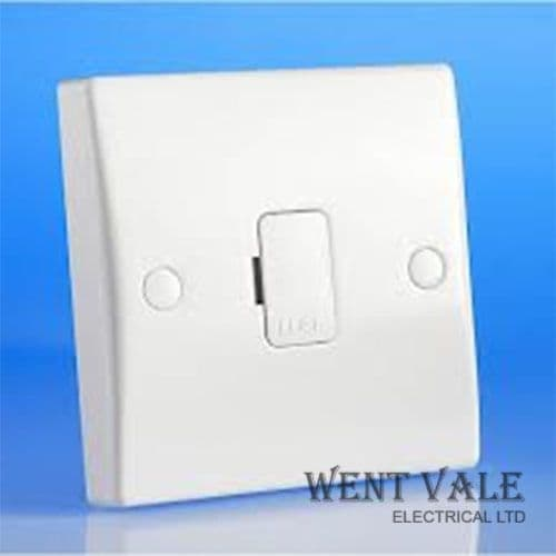 GET Exclusive Moulded - GU5003 - White 13a Un-switched Fused Connection Unit New