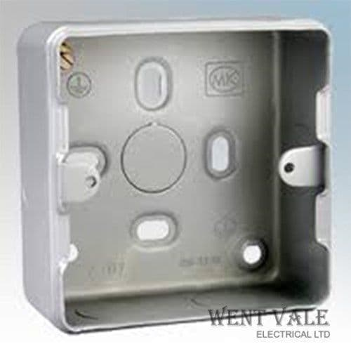 MK Grid/Metalclad Plus - K8891 ALM - One/Two Gang Surface Grid Switch Box New