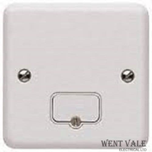 MK Metalclad Plus - K3054 WHI - 13a Un-switched White Fused Connection Unit New