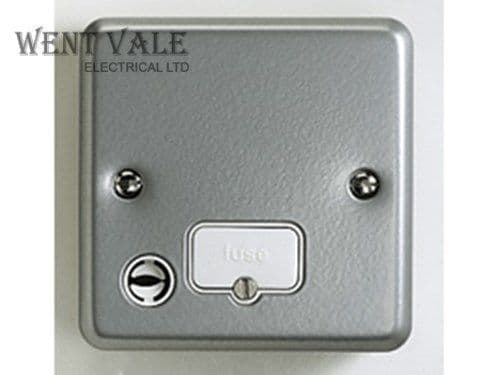 MK Metalclad Plus - K989 ALM - 13a Unswitched Fused Spur