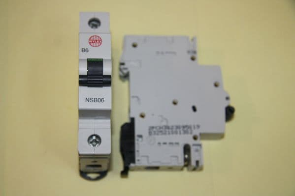 Wylex - NH NSB Range - NSB06 - 6a Type B Single Pole MCB Unused (SQ)